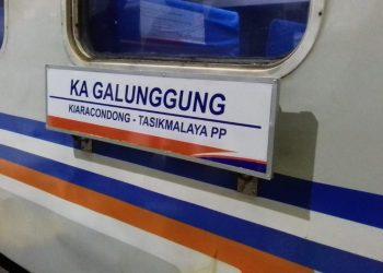 Luncurkan KA Galunggung, PT KAI Gratiskan Tiket Bandung-Tasik Sebulan