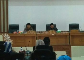 DPRD Pangandaran Rapat Paripurna Bahas Tiga Buah Raperda
