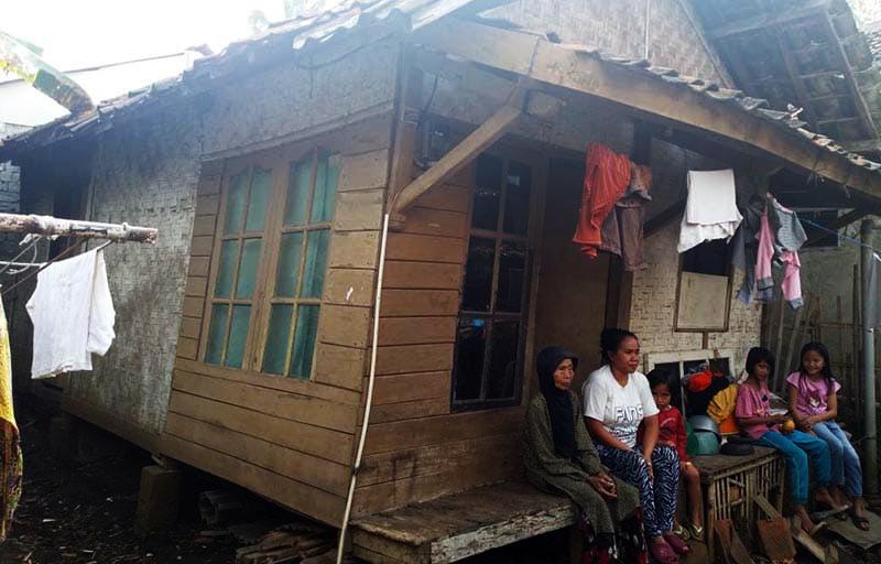 Rumah Kian Miring, Rumanah Harap Simpati Pemerintah