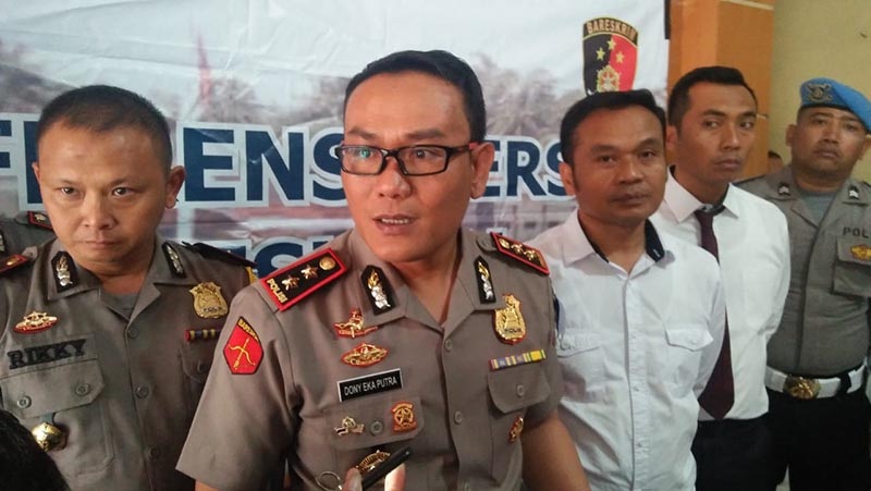 Detik Ganti Tahun, 73 Anggota Polres Tasik Naik Pangkat