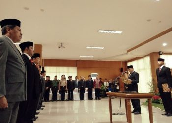 Tujuh Pejabat Pemkot Cimahi, Resmi Menyandang Jabatan Baru