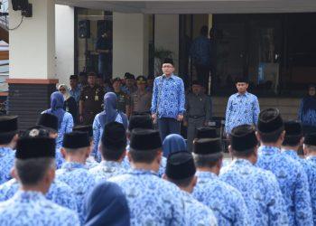 Upacara HKN, Ade Sugianto: ASN Mesti Pandai Bersyukur