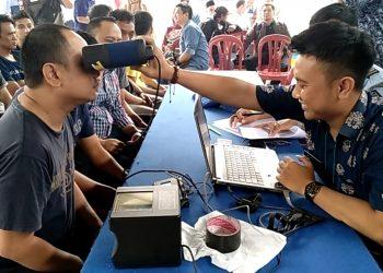 Jelang Pemilu Serentak, Napi Lapas Tasik Jalani Perekaman E-KTP