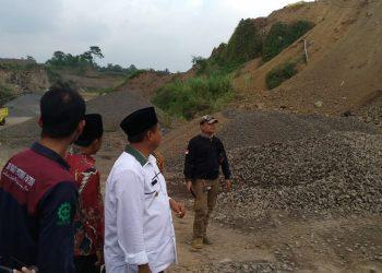 Wagub Jabar Lakukan Sidak ke Lokasi Penambangan Pasir Ilegal di Kota Tasik
