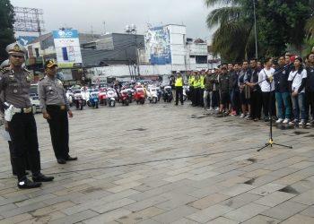 Ciptakan Ketertiban Lalu Lintas, Polres Tasik Kota Gelar Deklarasi Safety Riding