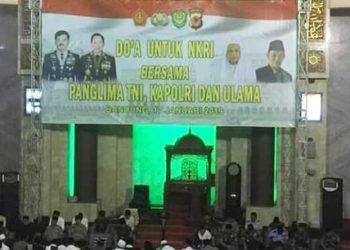 Panglima TNI, Kapolri, dan Para Ulama Jabar Gelar Doa Bersama untuk Nusantara
