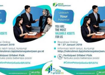 Rekrutmen Karyawan Baru BPJS Ketenagakerjaan 2019