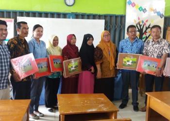 Tanoto Foundation Hibahkan 21.720 Buku Bacaan di Provinsi Jambi