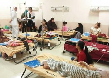 Wabah DBD Merebak, 88 Pasien Rawat Inap di RSUD Cimahi