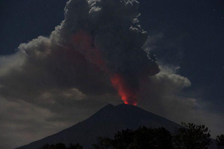 FOTO: Gunung Agung/NET