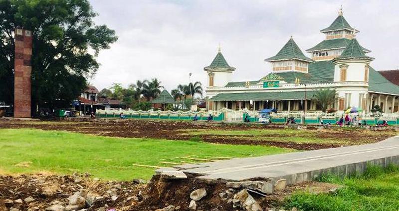 Rencana Penataan Alun-alun Manonjaya Versi Ridwan Kamil
