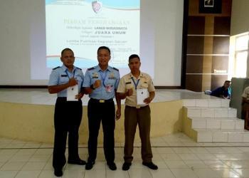 Danlanud Wiriadinata Raih Juara Umum Lomba Publikasi Tingkat Koopsau 1