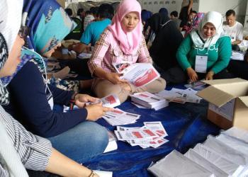 Di Kota Tasik, Lebih dari 2 Ribu Kertas Suara Pilpres Rusak