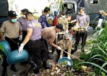 Hari Sampah Nasional, Polresta Ajak Komunitas Pungut Sampah