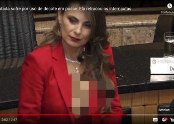 Ini Sosok Ana Paula da Silva, Politisi Brasil Berpakaian Seksi