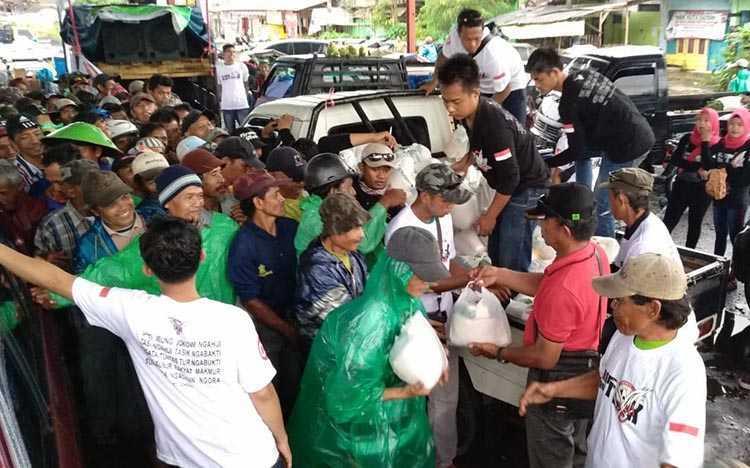 Kala Abang Becak Tasik Dukung Jokowi-Amin