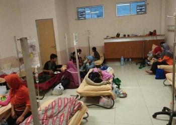 Masih Terdapat 43 Pasien DBD di Ruang Rawat Inap RSUD Cibabat