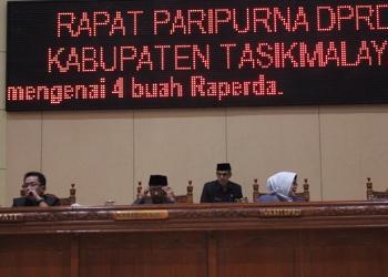 Pembukaan Masa Sidang 2019, DPRD Kab.Tasik Dukung 4 Raperda