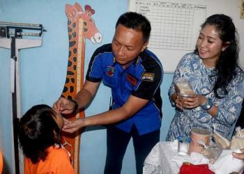 Pia Ardhya Garini Lanud Wiriadinata Dukung Bulan Vitamin A