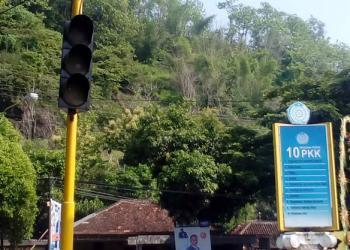 Dishub Kab. Pacitan Segera Perbaiki Traffic Light yang Alami Gangguan
