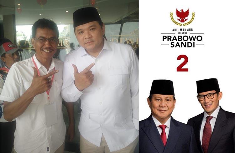 Wedana Kaler Asep Dunia Di Utara Prabowo-Sandi Menang 70 Persen