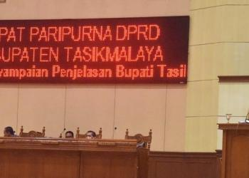 Bupati Ade Sukses Paparkan LKPJ 2018