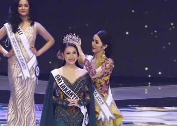 Frederika Alexis Cull Raih Gelar Puteri Indonesia 2019