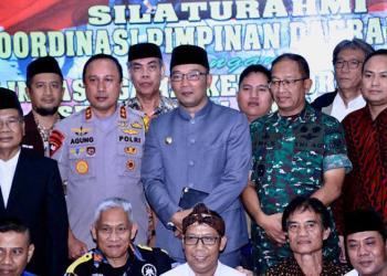 Jaga Kondusifitas Pasca Pemilu, Kapolda Jabar Gelar Silaturahmi