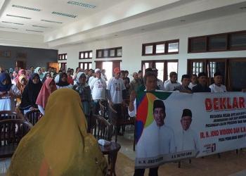 Keluarga Besar APTI dan HIPSI Ciamis Jabar Siap Menangkan Jokowi-Makruf