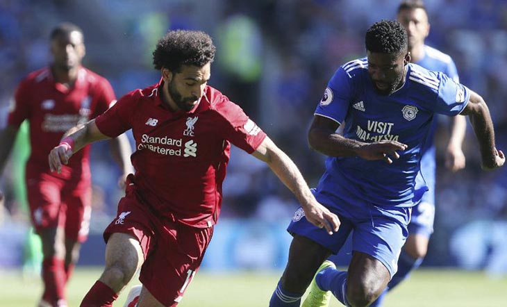 Menang Lawan Cardiff City, Liverpool Jaga Peluang Juara