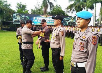 Polres Kota Tasik Turunkan 8.063 Personil ke TPS