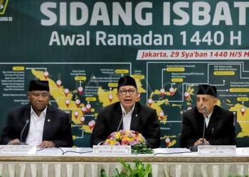 Kemenag Tetapkan 1 Ramadan 1440 H Jatuh Pada Tanggal 6 Mei 2019