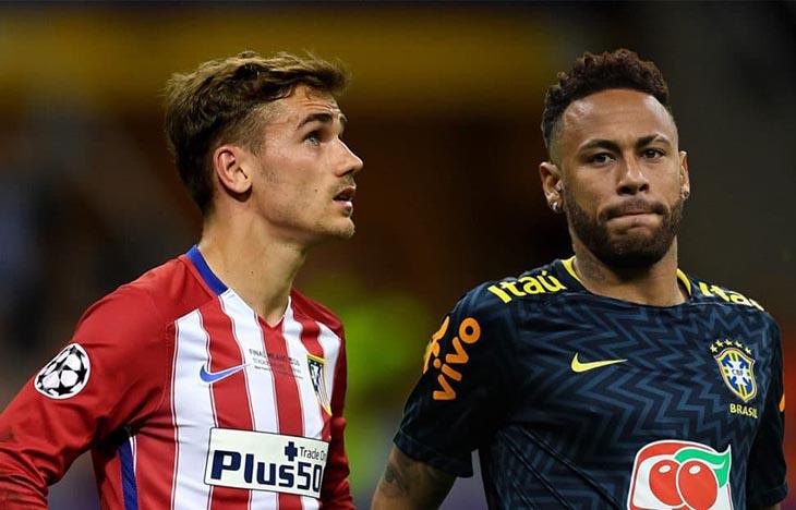 Antoine Griezmann vs Neymar Jr