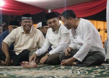 Di Moment Idul Adha, Ajay Gelar Open House di Kediamannya