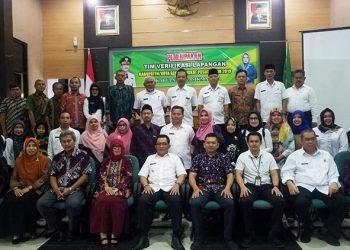 Tim Verifikasi Pusat Kabupaten Sehat Kunjungi Kabupaten Tasikmalaya