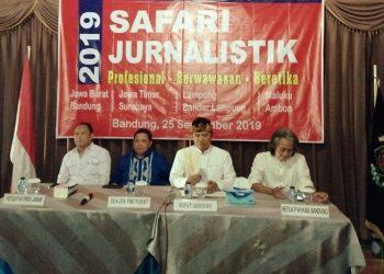 Guna Tingkatkan Kualitas dan Kuantitas Pers, PWI Gelar Safari Jurnalistik