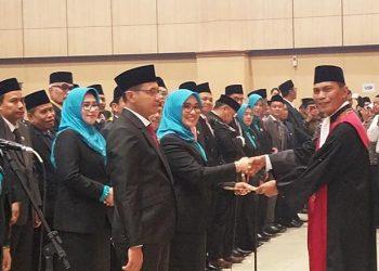 Pelantikan Anggota DPRD Kabupaten Tasikmalaya Periode 2019-2024 Masih Didominasi Wajah Lama