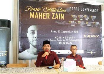Sapa Penggemar, Maher Zain Bakal Hadir di Kota Tasik