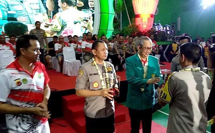 Turnamen Bulutangkis Kapolda Cup ll Cari Bibit Atlet Prestatif