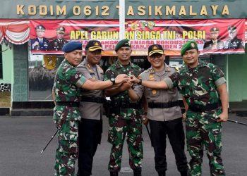 Jelang Pelantikan Presiden dan Wapres 2019, TNI-Polri Siap Amankan Daerah