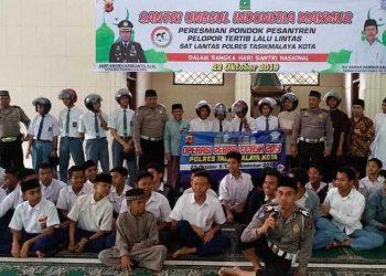 Polres Tasikmalaya Kota Launching Ponpes Tertib Lalu Lintas