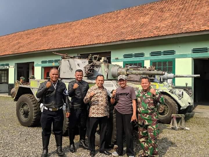 Perkuat Karakteristik Kota Militer, Taman Kota di Cimahi Akan Dihiasi Kendaraan Tempur TNI