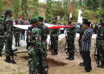 Pemakaman Anumerta Ginanjar Arianda Berlangsung Khidmat
