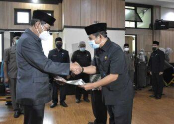 Plt Wali Kota Kukuhkan 40 Pejabat Pemkot Secara Tertutup