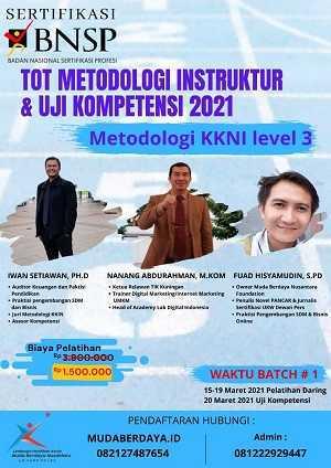 Pelatihan Instruktur BNSP